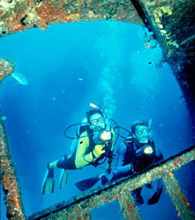 Wreck Diving in Florida
