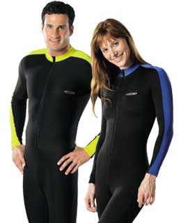 Lycra body suit for scuba divers - Wet suit liner at a discount